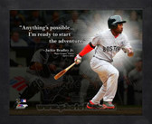 Boston Red Sox Jackie Bradley Jr. 11x14 Framed Pro Quote Photo