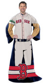 "Boston Red Sox 48""x71"" Comfy Throw - Player Design"