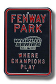 Boston Red Sox 2007 World Series Parking Sign
