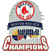 Boston Red Sox 2007 World Series Champions Pin