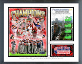 Boston Red Sox 2007 World Series Champions Milestones & Memories Framed Photo