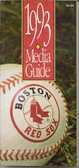 Boston Red Sox 1993 Media Guide