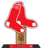 Boston Red Sox  Team Logo Photo Sculpture