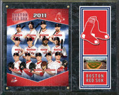 "Boston Red 2011 Sox Team Composite 15""x12"" Plaque"