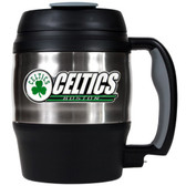 Boston Celtics 52oz. Stainless Steel Macho Travel Mug with Bottle Opener