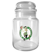 Boston Celtics 31oz Glass Candy Jar
