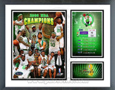 Boston Celtics 2007-08 NBA Champions Milestones & Memories Framed Photo
