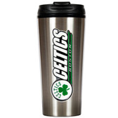 Boston Celtics 16oz Stainless Steel Travel Tumbler