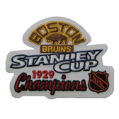 Boston Bruins 1929 Stanley Cup Champions Patch
