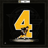 Bobby Orr Boston Bruins 20x20 Framed Uniframe Jersey Photo
