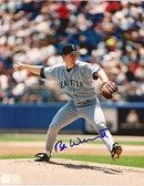 Bob Wilccott Seattle Mariners Signed 8x10 Photo