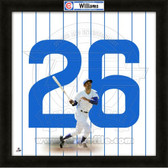 Billy Williams Chicago Cubs 20x20 Framed Uniframe Jersey Photo
