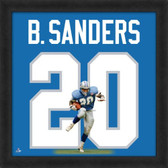 Barry Sanders Detroit Lions 20x20 Framed Uniframe Jersey Photo