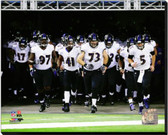 Baltimore Ravens 2013 Team Introduction 40x50 Stretched Canvas