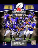 Baltimore Ravens 2012 AFC Champs 8x10 Photo