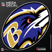 "Baltimore Ravens 12""x12"" Mega Decal"