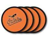 Baltimore Orioles Coaster Set - 4 Pack
