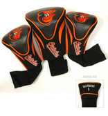 Baltimore Orioles 3-Pack Contour Sock Headcovers