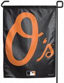 """Baltimore Orioles 11""""x15"""" Garden Flag"""