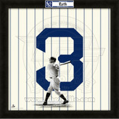 Babe Ruth New York Yankees 20x20 Framed Uniframe Jersey Photo