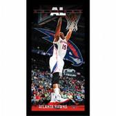 Atlanta Hawks Al Horford Player Profile Wall Art 9.5x19 Framed Photo