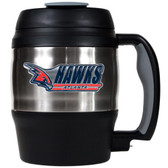 Atlanta Hawks 52oz. Stainless Steel Macho Travel Mug with Bottle Opener
