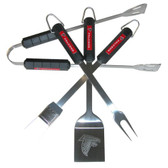 Atlanta Falcons 4 pc BBQ Set