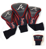 Atlanta Braves 3-Pack Contour Sock Headcovers