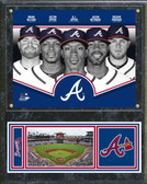 Atlanta Braves 2013 Team Composite Plaque
