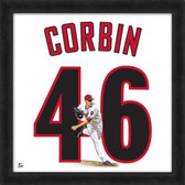 Arizona Diamondbacks Patrick Corbin 20X20 Framed Uniframe Jersey Photo