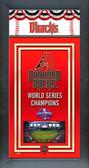 Arizona Diamondbacks Framed Championship Banner