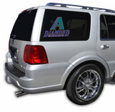 "Arizona Diamondbacks Die-Cut 12""x12"" Window Film"