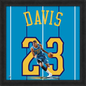 Anthony Davis Charlotte Hornets 20 x 20 Framed Uniframe Jersey Photo