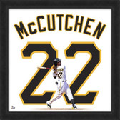 Andrew McCutchen Pittsburgh Pirates 20x20 Framed Uniframe Jersey Photo