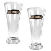 Anaheim Ducks Oval Pilsner Glass Set