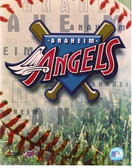 Anaheim Angels Team Logo 8x10 Photo