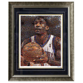Amare Stoudemire Mosaic 16x20 Photo Framed