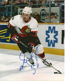 Alexandre Daigle Ottawa Senators Signed 8x10 Photo