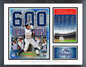 Alex Rodriguez 600th Career Home Run Milestones & Memories Framed Photo
