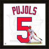Albert Pujols St. Louis Cardinals 20x20 Framed Uniframe Jersey Photo