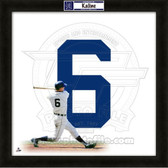 Al Kaline Detroit Tigers 20x20 Framed Uniframe Jersey Photo