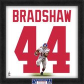 Ahmad Bradshaw New York Giants Super Bowl 46 20x20 Framed Uniframe Jersey Photo
