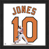 Adam Jones Baltimore Orioles 20x20 Framed Uniframe Jersey Photo