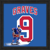 Adam Graves New York Rangers 20x20 Framed Uniframe Jersey Photo
