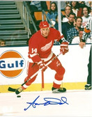 Aaron Ward Detroit Red Wings Signed 8x10 Photo