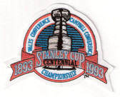 1993 Stanley Cup NHL Logo Patch - Montreal Canadiens