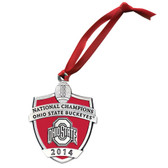 Ohio State Buckeyes 2014 National Champions Ornament