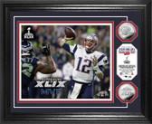 "New England Patriots Super Bowl XLIX ""MVP"" Silver Coin Photo Mint"