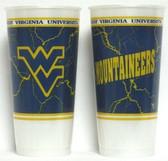 West Virginia Mountaineers Souvenir Cups