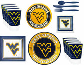 West Virginia Mountaineers Party Supplies Pack #2
